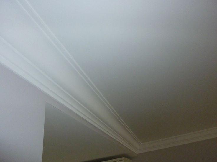 17 beste idee n over plafond kleur op pinterest verf bekleding hal verfkleuren en pulte huizen - Plafond met balk ...