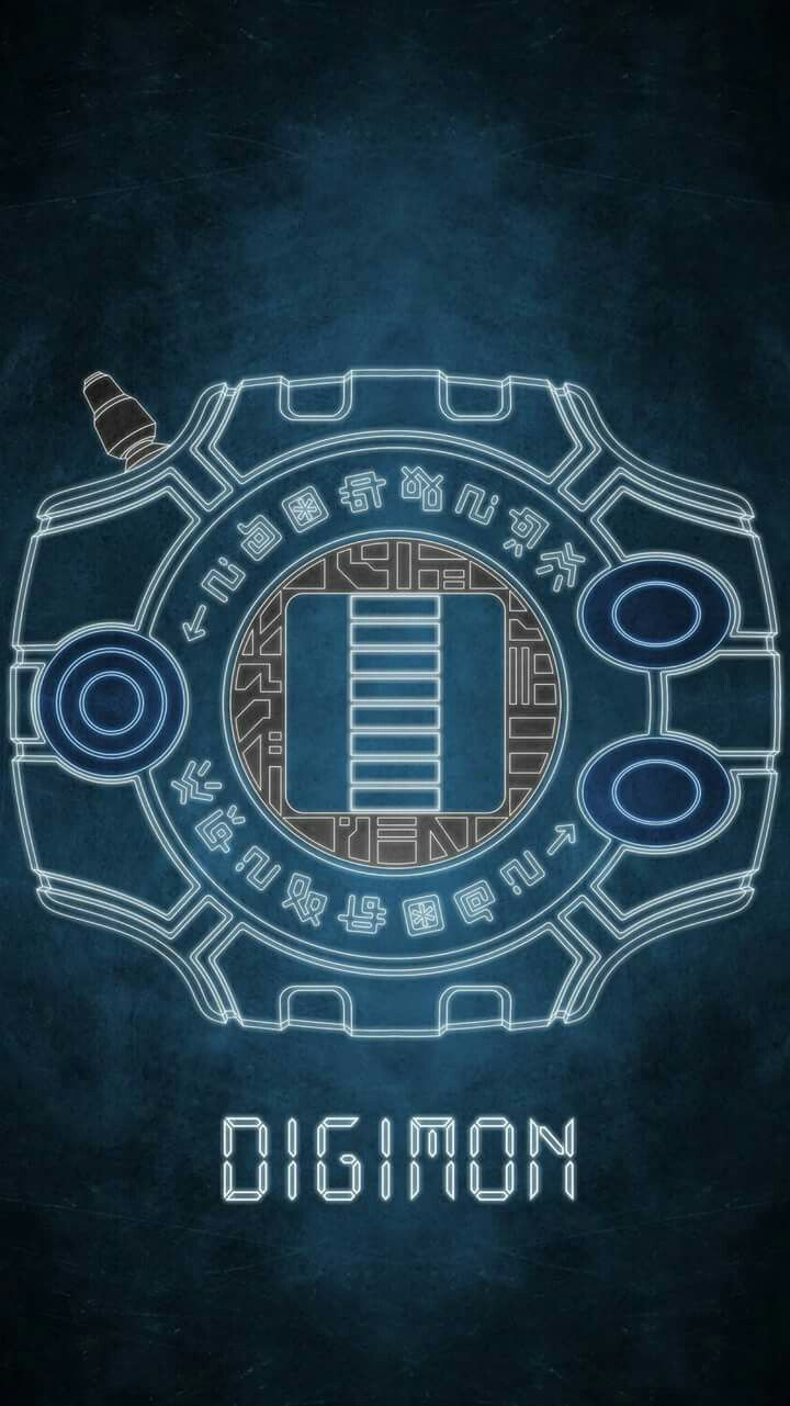 Digivice Crest Of Digimon