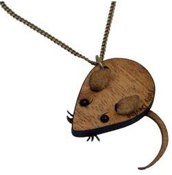 Mouse Necklace - AW06