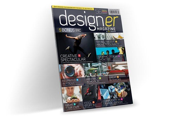 Magazine Template InDesign 03 by Love Graphic Design on Creative Market