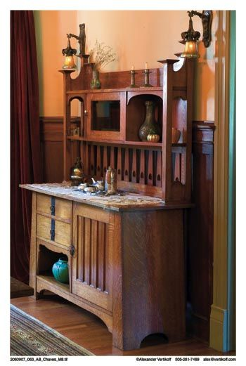 The attention to detail in this craftsman piece adds to its value. The practical and the lovely compliment each other well.