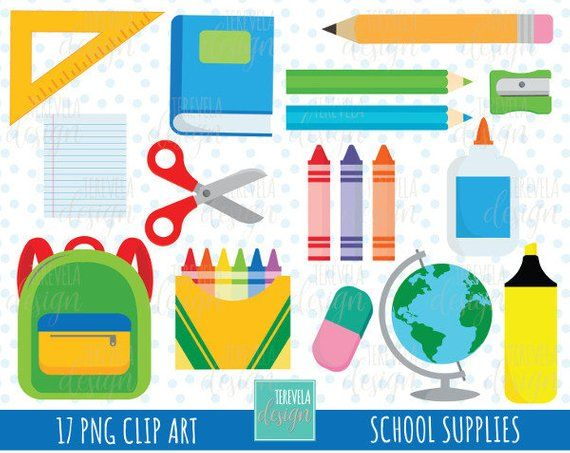 50 Sale School Clipart Teachers Graphics Commercial Use Back