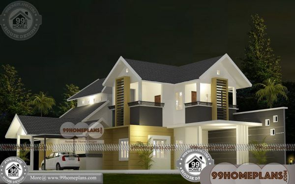 New House Designs Kerala Style 60 Double Story Display Homes Kerala House Design Beautiful House Plans House Design