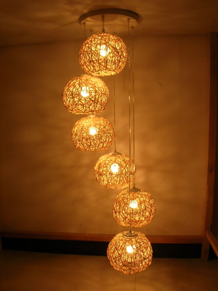 Si se da la pantalla de alguna l mpara en casa te damos - Como hacer una lampara de pared ...