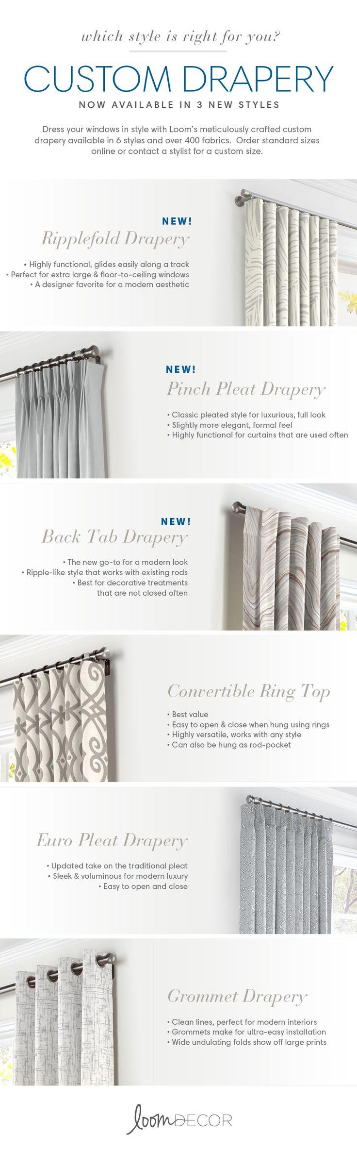 Best 25+ Drapery styles ideas on Pinterest | Drapery designs ...