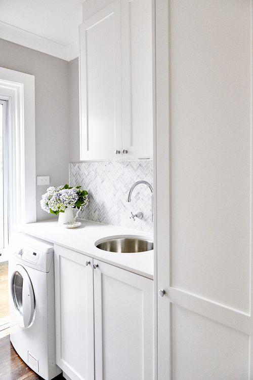 15 ideas para un cuarto de lavado chiquito pinterest for Lavaderos chiquitos