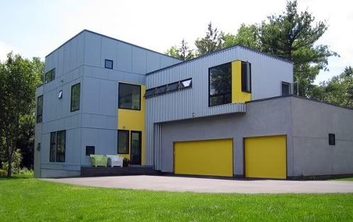 Casa prefabricada hive modular casas prefabricadas modulares pinterest - Hive modular x line container home in canada ...