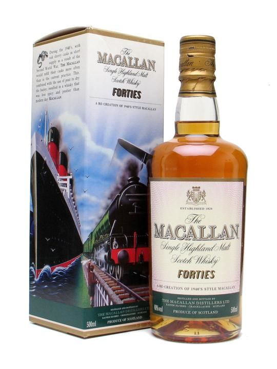 Macallan Travel Series 1940s Scotch Whisky : The Whisky Exchange