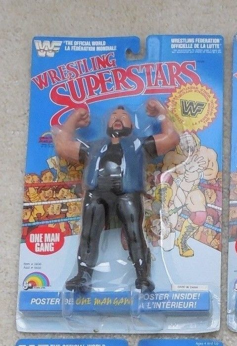 WWF LJN WWF Wrestling Superstars One Man Gang MOC #LJN