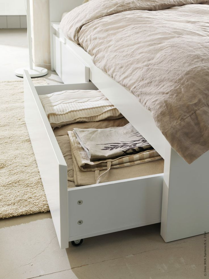 1000+ ideas about Ikea Storage Bed on Pinterest Platform bed storage, Bed frame storage and