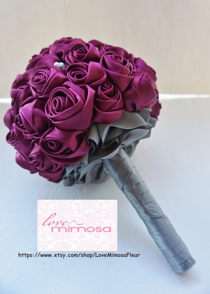 how to make satin roses bouquet