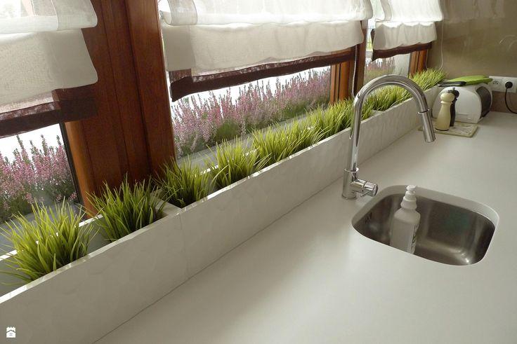 kuchnia - cappuccino z pianką - zdjęcie od Archomega Biuro Architektoniczne - Kuchnia - Styl Nowoczesny - Archomega Biuro Architektoniczne