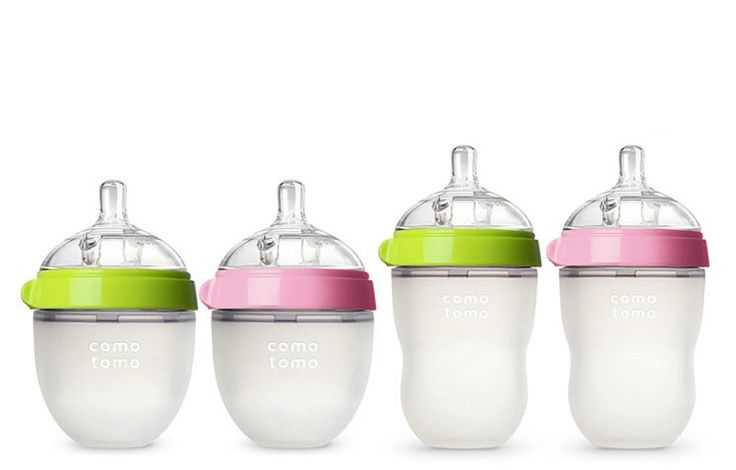 The soft new Comotomo silicone baby bottles will be a huge help for new parents everywhere.