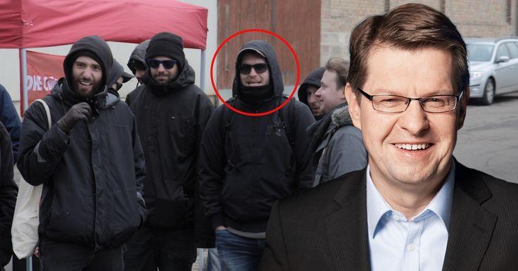 Der Sohn von SPD-Politiker Ralf Stegner ist führendes Mitglied der linksterroristischen ANTIFA und beteiligt sich rege an staats- und demokratiefeindlichen Aktionen in Halle.