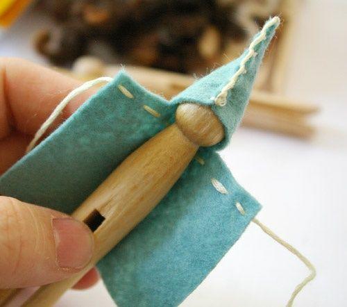 Handmade Clothes Pin Fairy Wardrobe Tutorials - Waldorf Inspired