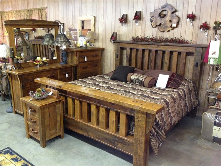 Mountain Top Furniture And Accessories Barnwood Bed The
