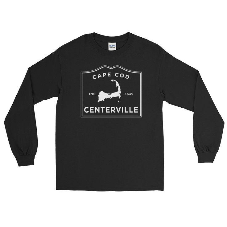 Centerville Long Sleeve T-Shirt | Get your own Cape Cod Town T-shirt at capecodinsta.com Wear your town! @capecodinsta