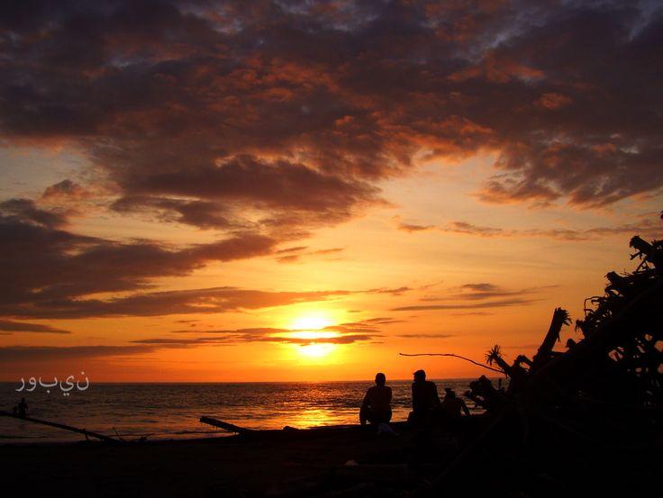 La caída del sol, la Barra. Buenaventura