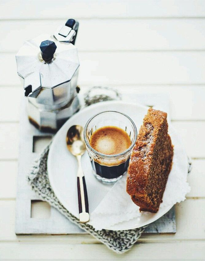 Coffee and a Snack /