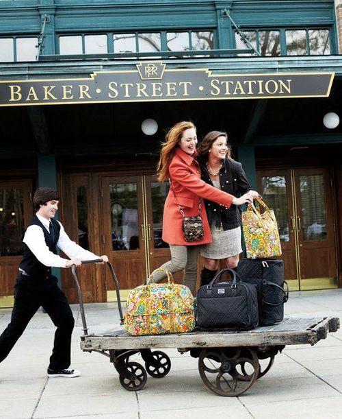 I worked opposite Baker St Tube station for 2 years:)