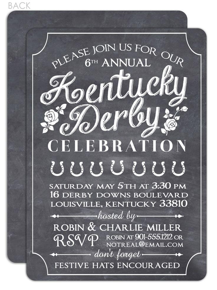 , kentucky derby bachelorette party invitations, kentucky derby birthday party invitations, kentucky derby party invitation ideas, invitation samples