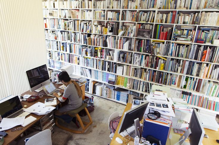 Yoshiharu Tsukamoto at Home and his Studio in Tokyo