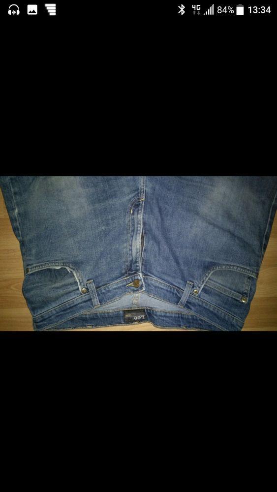 Lee Herren Jeans W38 L30 blau