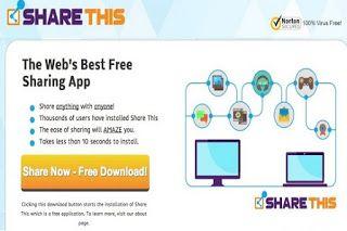 Procédure pour se débarrasser de l'adware ShareThis complètement pour éviter les inondations des publicités indésirables et de rediriger les liens des pages Web consultées.