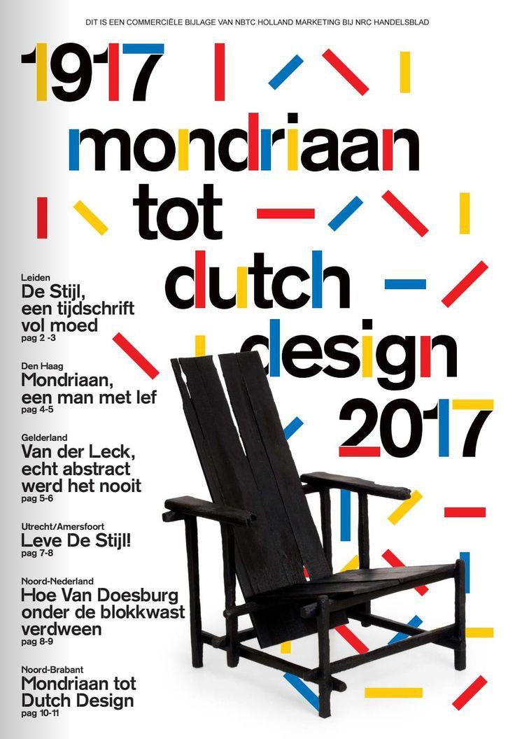 100 Years of Design by 'De Stijl'. Learn more about its designers: Mondriaan, Rietveld, Van der Leck, Van Doesburg.