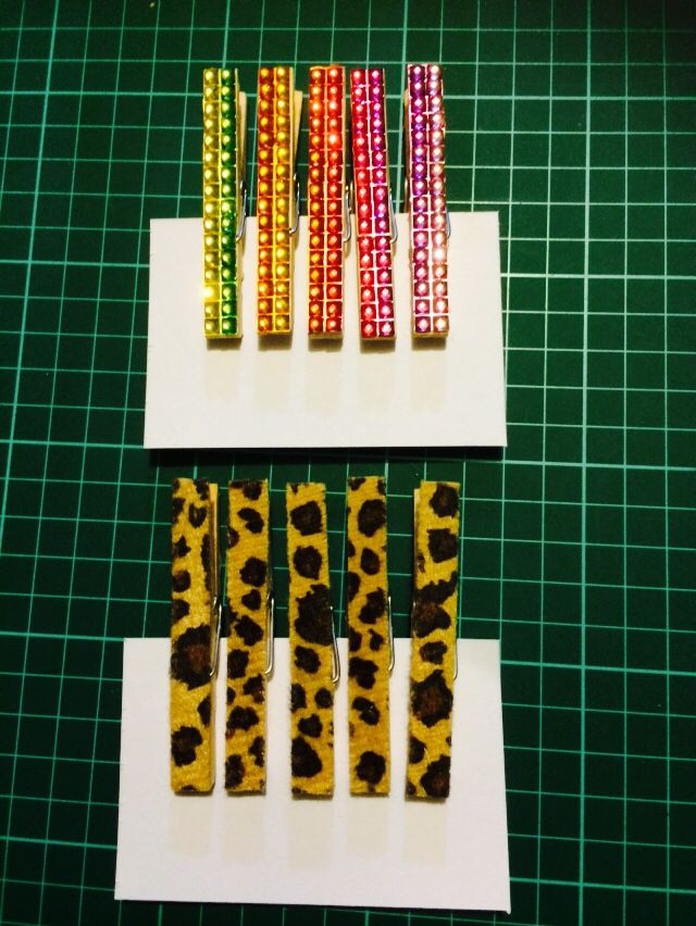 Decorated Magnet Pegs 2014