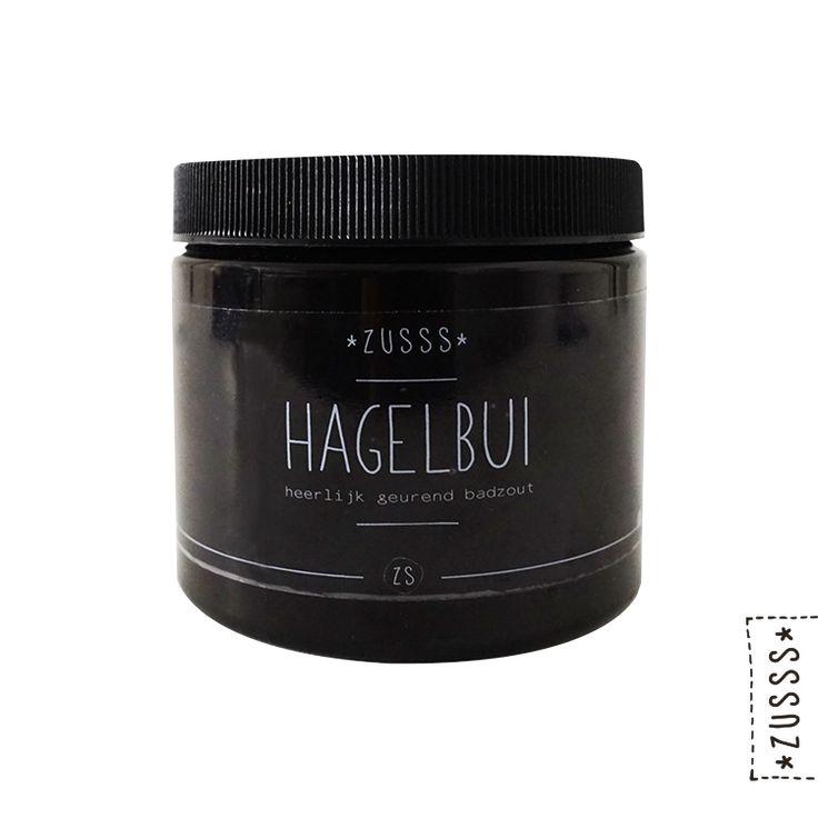 Zusss | Badzout hagelbui | http://www.zusss.nl/product/badzout-hagelbui/