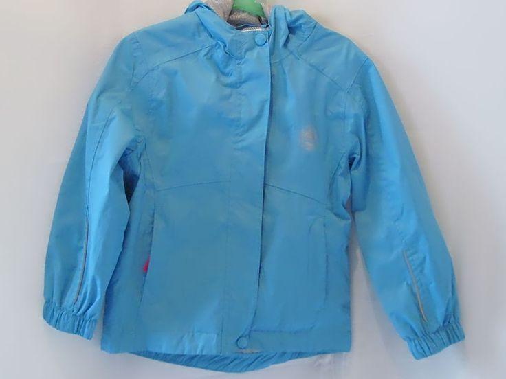 Pocopiano Windjacke Jacke Mädchen wetterfest blau Kapuze Gr. 116 - Diesen und weitere Artikel finden Sie bei Marias-Einkaufsparadies.de! (www.marias-einkaufsparadies.de)