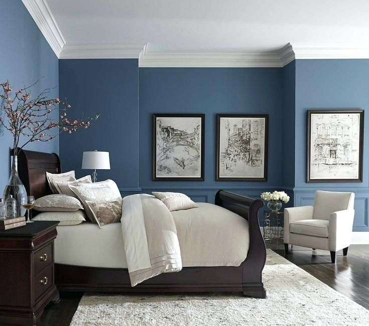Image Result For Blue And Grey Kitchen Small Master Bedroom