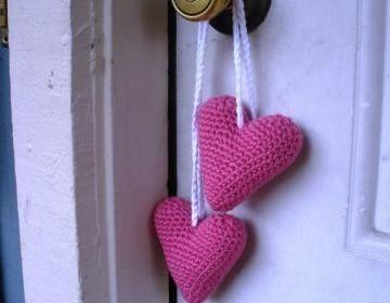 Plush Amigurumi Crochet Hanging Pin..