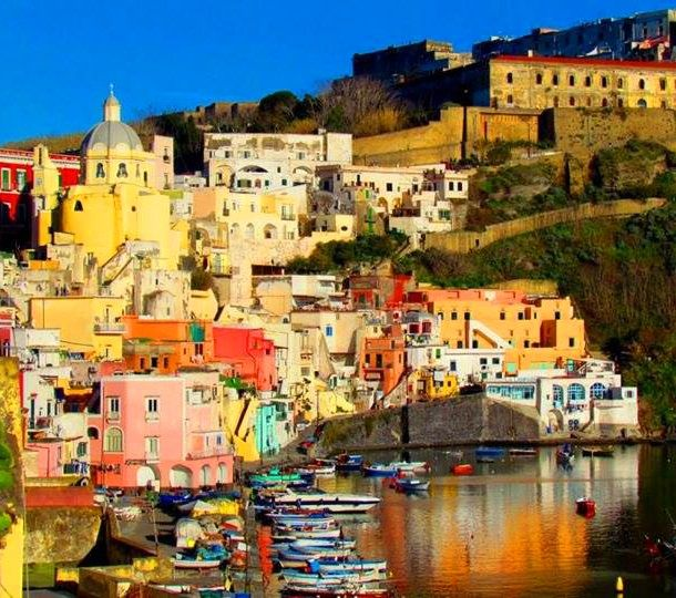 Port on the Island of Procida
