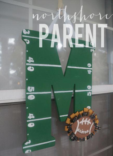 football-door-decoration