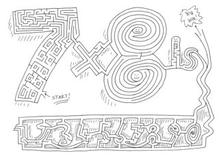 set of math mazes for students to have a bit of fun while practicing multiplication facts.