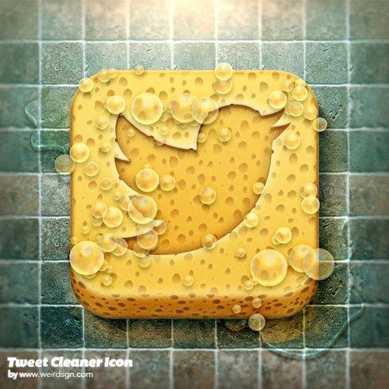 Tweet Cleaner Icon