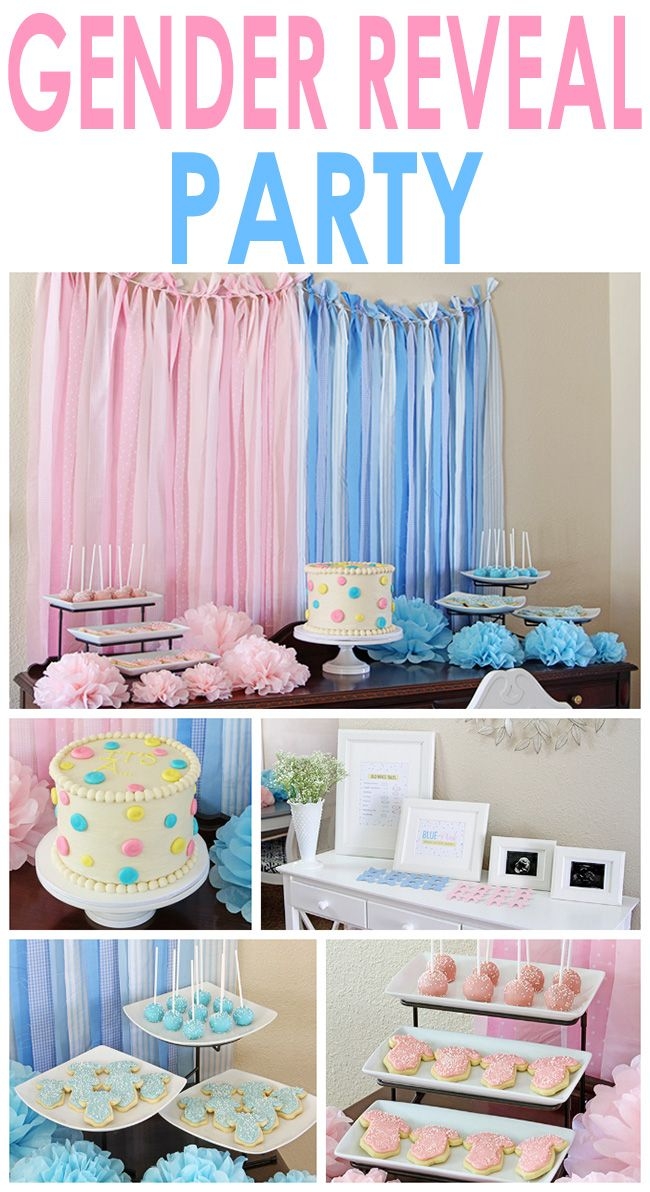 Gender Reveal Party! Great inexpensive DIY ideas!