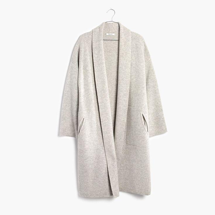 madewell rivington sweater-coat.