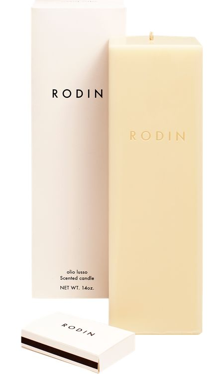 Rodin candle. That's it. This is the smell of me going broke.