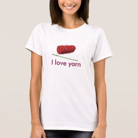 I love yarn womens shirt - click to get yours right now!
