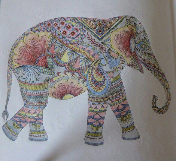 Millie Marotta Elephant