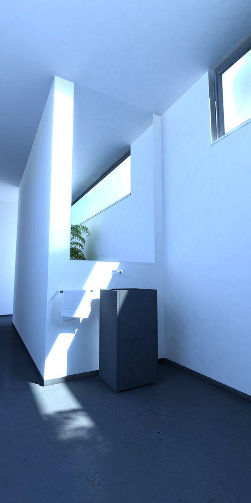 Prototypage virtuel: Réalisation d'une vasque en marbre de Carrare (3D)