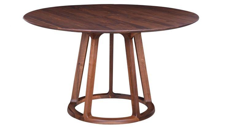 Rådjuret - Matbord i massiv valnöt