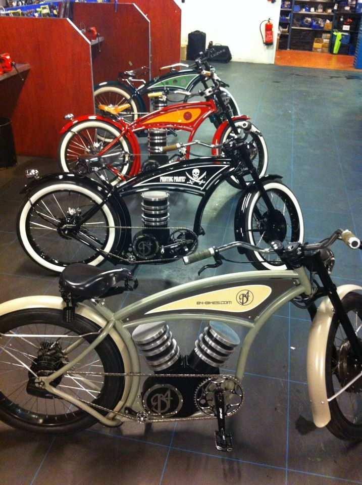 B4 Bikes sweet electric build.