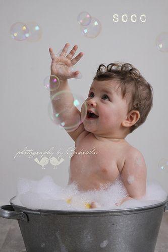 bubbles. Use bubbles or bubble machine for bubbles