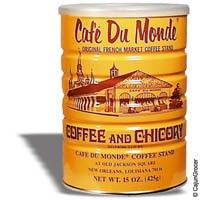 beignets and chicory coffee from cafe du monde