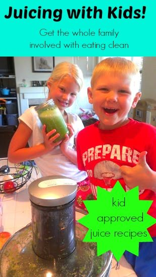 Juicing 101~get the whole family involved with kid approved recipes