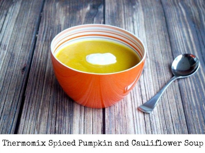 Spiced Pumpkin and Cauliflower Soup